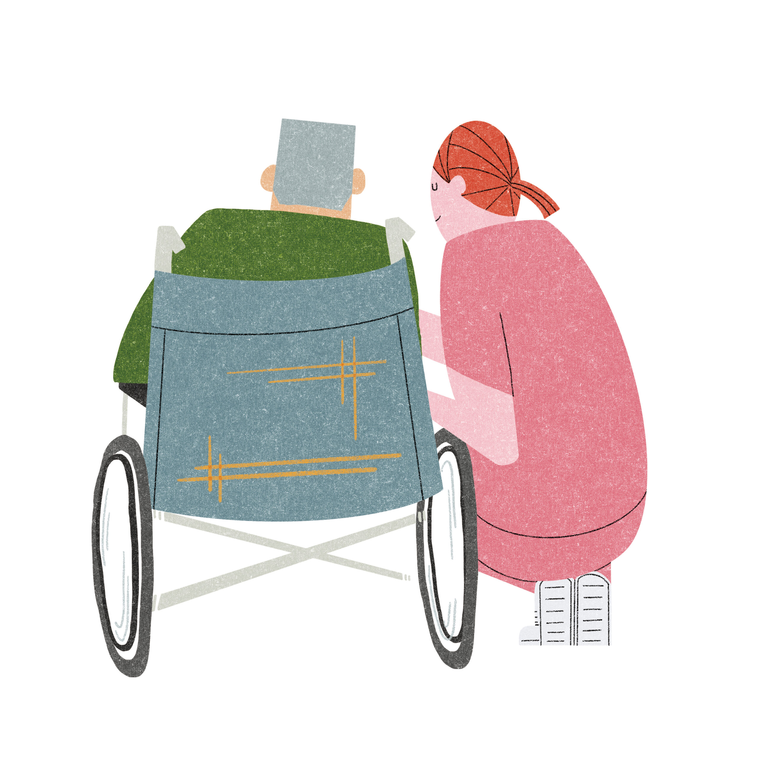 病状・障がいの観察および体調管理